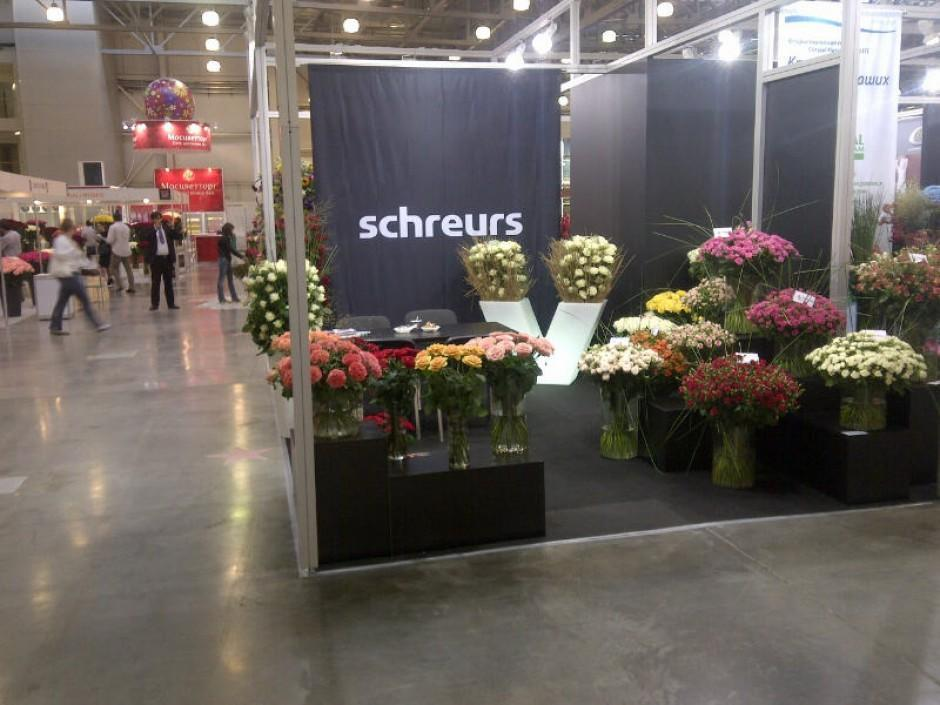 Schreurs participates in Exhibition Moscow 2013