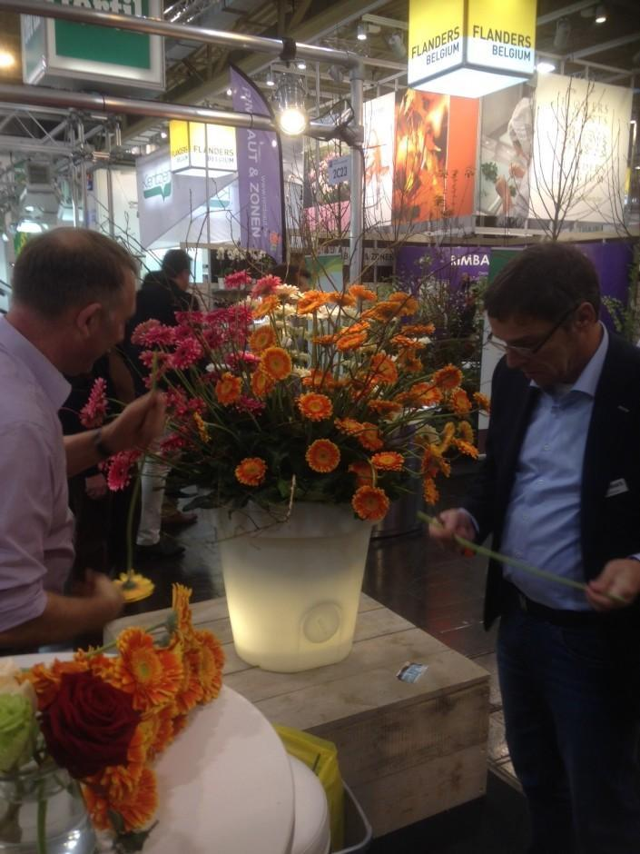 Another busy day with many visitors at the IPM in Essen 2014