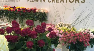 Schreurs present at Kyiv Flower Expo